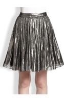 Alice + Olivia Lizzie Metallic Full Skirt - Lyst