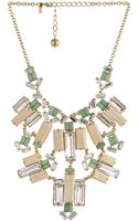 Kate Spade Centro Tiles Statement Necklace - Lyst