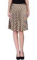 Ra-re Knee Length Skirt - Lyst