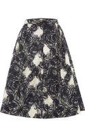 Max Mara Oria Printed A Line Skirt - Lyst