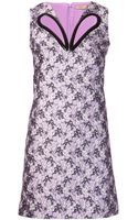 Christopher Kane Print Dress - Lyst