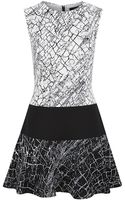 BCBGMAXAZRIA Lillian Blocked Dress - Lyst
