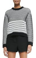 Proenza Schouler Long-sleeve Knit Sweater - Lyst