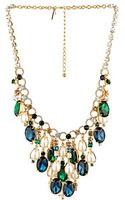 Kate Spade Pearl Mix Statement Necklace - Lyst