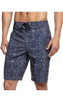 Under Armour Tribal Print Performance Board Shorts - Lyst