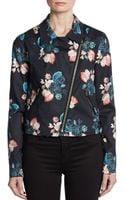 Sachin & Babi Josefina Floral Moto Jacket - Lyst