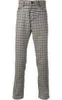 Etro Checked Trousers - Lyst