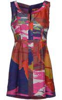 Tory Burch Short Dress - Lyst