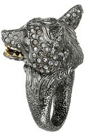 Alexis Bittar Crystal Encrusted Fox Ring - Lyst