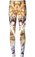 Philipp Plein Mixed Print Leggings - Lyst