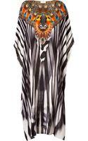 Camilla Embellished Silk Maxi Caftan - Lyst