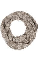 Missoni Metallic Crochetknit Mohairblend Snood - Lyst