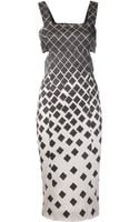 Suno Side Cut Out Dress - Lyst