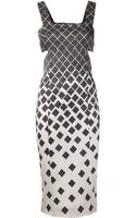 Suno Side Cut Out Dress - Lyst