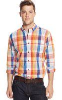 Tommy Hilfiger Plaid Shirt - Lyst