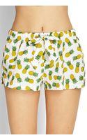 Forever 21 Pineapple Sleep Shorts - Lyst
