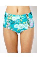 Seafolly Songbird High Waisted Bikini Bottoms - Lyst