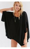 Silence + Noise  Fallen Angle Tunic Top - Lyst