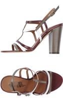 Michel Vivien Highheeled Sandals - Lyst