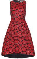 Alice + Olivia Bailey Jacquard Dress - Lyst