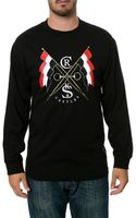 Crooks And Castles The Flagbearer Ls Tee - Lyst