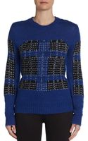 Thakoon Knit Jacquard Pullover - Lyst