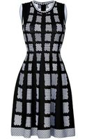 Issa Intarsia Knit Bay Dress - Lyst
