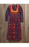 Free People Vintage Printed Dress - Lyst