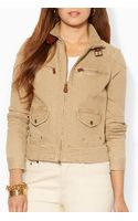 Ralph Lauren  Denim Moto Jacket - Lyst
