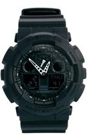 G-shock Gshock Analogue Black Watch Ga1001a1er - Lyst