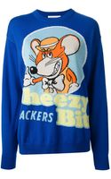 Moschino Mouse Knit Sweater - Lyst
