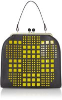 Therapy Hana Perforated Frame Bag - Lyst