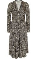 Issa Silk Jersey Wrap Effect Maternity Dress - Lyst