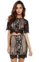 For Love & Lemons Wild Flower Crop Top - Lyst
