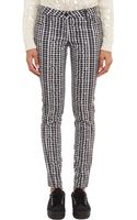 Kenzo Abstractplaid Jeans - Lyst