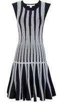 Diane Von Furstenberg Celine Fit Flare Knit Dress - Lyst