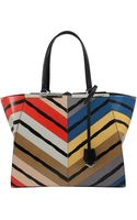 Fendi Multicolor 2jours Grande Shopper - Lyst