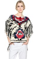 Etoile Isabel Marant Sleeveless Wool Blend Sweater - Lyst