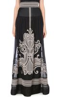 Temperley London High-Waisted Embroidered Skirt - Lyst