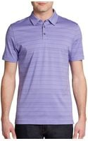 Robert Barakett Ios Striped Pima Cotton Polo - Lyst