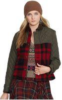Polo Ralph Lauren Mixedmedia Jacket - Lyst