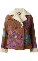 Burberry Prorsum Hand-painted Jacket - Lyst