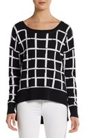 French Connection Gridcheck Hilo Pullover - Lyst