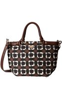 Kate Spade Hamiton Heights Fabric Small Canteen - Lyst