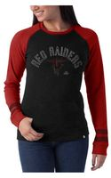 47 Brand Womens Texas Tech Red Raiders Top View Sweatshirt - Lyst