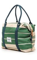 Herschel Supply Co. Strand Duffel Bag  Army Stripe and Navy - Lyst