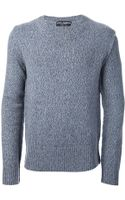 Dolce & Gabbana Crew Neck Sweater - Lyst