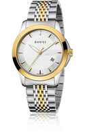 Gucci Gtimeless Collection Watchstainless Steel Gold Pvd - Lyst