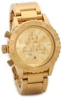 Nixon 4220 Chrono Watch  Gold - Lyst
