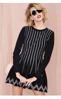 Nasty Gal Nellie Knit Dress - Lyst